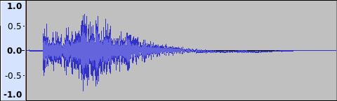Buster Shot Weak sound wave