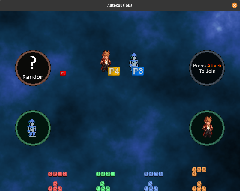 Character Selection UI